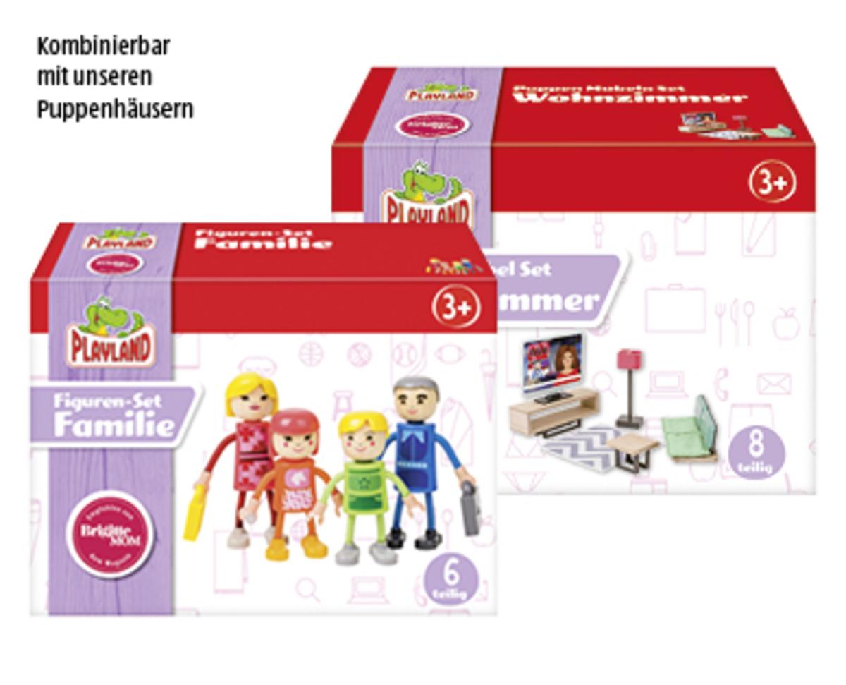 Bild 1 von PLAYLAND Puppenhausmöbel-/ -figuren-Set