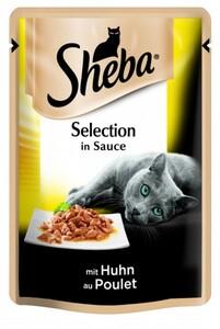 Sheba Katzennassfutter Huhn in Soße, 85 g Sheba Cuisine ,  85 g