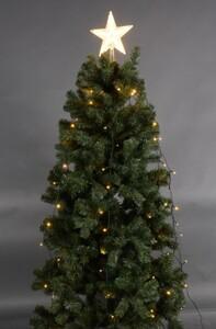 TrendLine Baumkettenmantel mit Spitze ,  110 LED, warmweiß