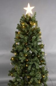 TrendLine Baumkettenmantel mit Spitze ,  140 LED, warmweiß