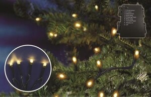 TrendLine LED Lichterkette mit 80 LED ,  mit Timer