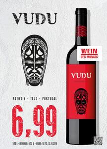 Vudu Rotwein Syrah Tejo, Portugal