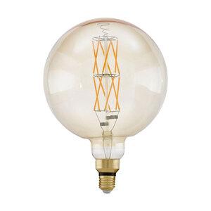 """Eglo              XXL LED-Leuchtmittel """"Amber-G200"""", E27, 8 W"""