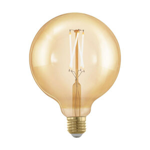 "Eglo              LED-Leuchtmittel ""Amber-G125"", E27, 4 W"