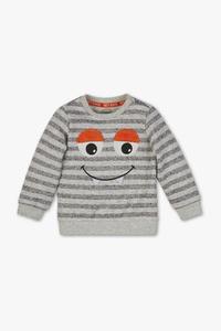 Baby Club         Baby-Sweatshirt - gestreift
