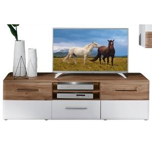 LIV'IN TV-Unterschrank CARTAGO Planked Eiche/Weiß ca. 180 x 51 x 51 cm