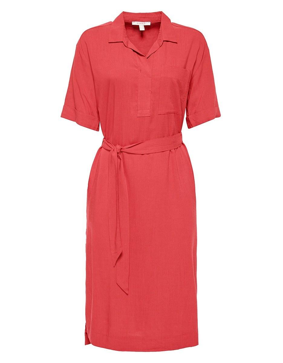 Bild 1 von Esprit - Kleid mit Bindegürtel