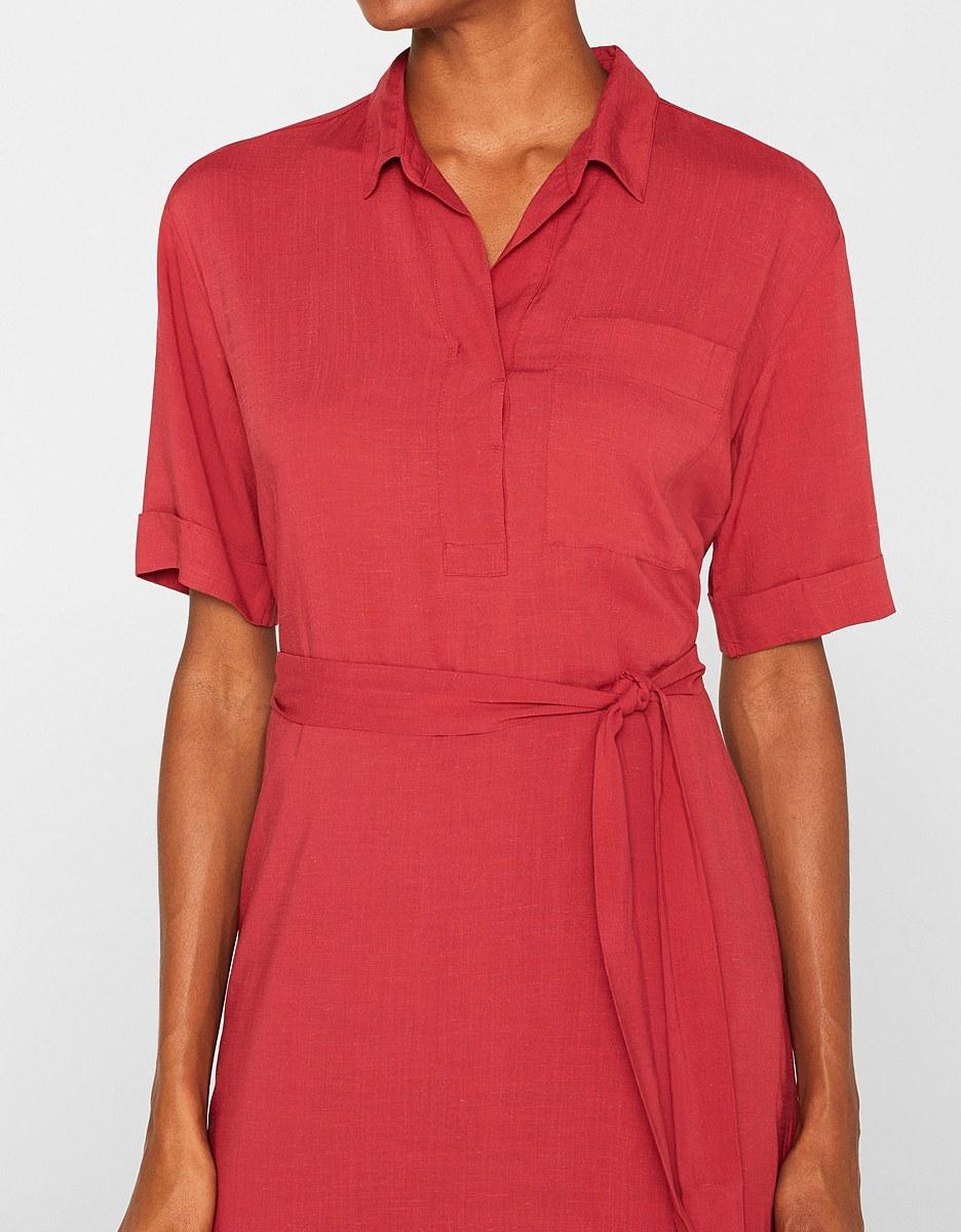 Bild 2 von Esprit - Kleid mit Bindegürtel
