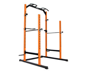SportPlus-Power-Cage-Trainings-Rack »SP-HG-020«, inkl. Langhantelstange und 38,5-kg-Hantelscheiben-Set