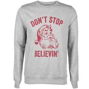 Herren Sweatshirt mit Weihnachtsdruck