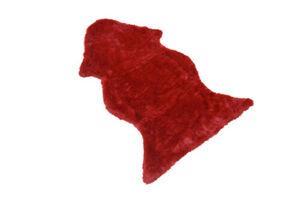 Möbel-Direkt-Online Fellimitat ca. 115x75 cm Lammfellimitat, rot
