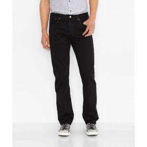 Levi's® Herren Jeans 501® Original Fit, 00501-0165 Black, W31/L32, black, W31/L32