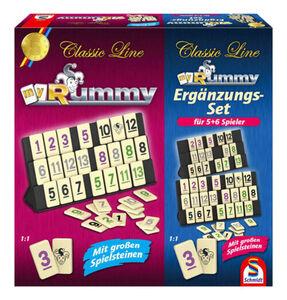Schmidt Spiele Classic Line my Rummy + Ergänzungsset