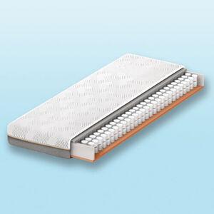 Schlaraffia Geltex®-Quantum Touch 220 Taschenfederkernmatratze, 90x200, H3, weiß, 090x200 cm