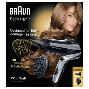 Braun Haartrockner Satin Hair 7 HD 730 Diffusor, schwarz