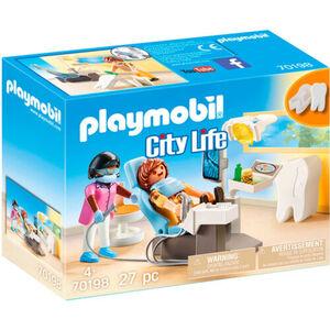 PLAYMOBIL® City Life Beim Facharzt: Zahnarzt 70198