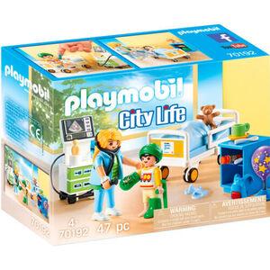 PLAYMOBIL® City Life Kinderkrankenzimmer 70192
