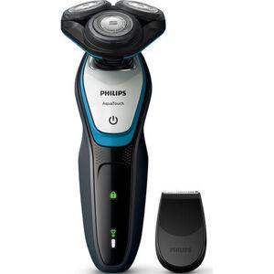 Philips Rasierer S5070/92, schwarz/türkis