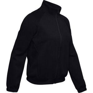 Under Armour Damen Trainingsjacke Double Knit, schwarz, XL, XL
