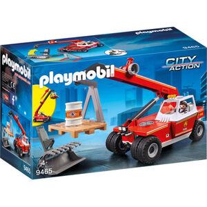PLAYMOBIL® City Action Feuerwehr-Teleskoplader 9465