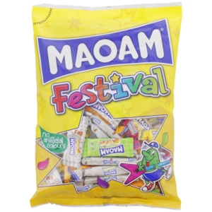 MAOAM Festival-Tüte