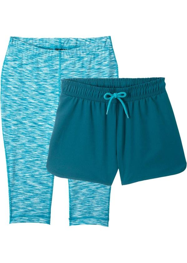 Sporthose mit Capri Leggings (2-tlg)