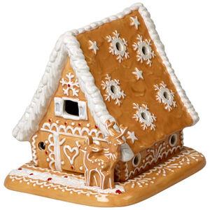 Villeroy & Boch Lebkuchenhaus Winter Bakery Decoration, braun