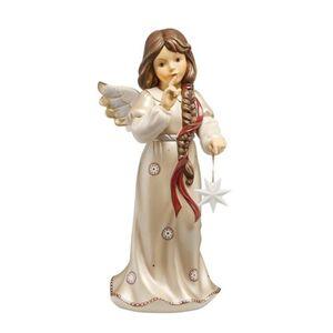 Goebel Engel Zauberhafter Abendstern, Pearly Gleam