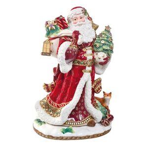 Fitz&Floyd Figur Santa mit Geschenken, mehrfarbig