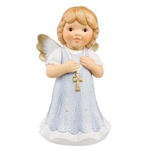 Goebel Engel Mit Glaube wird alles möglich, Eisblau
