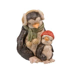 "Goebel Figur Pinguine ""Frieda und Helma"", Bunt"