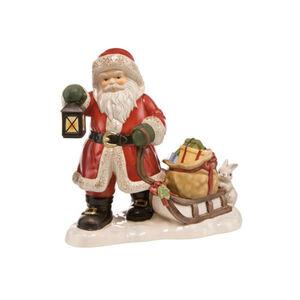 """Goebel Figur Weihnachtsmann """"Bald ist Bescherung"""", Bunt"""