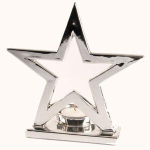 Teelichthalter Stern, 17 cm