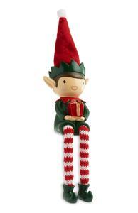 Sitzender Deko-Elf