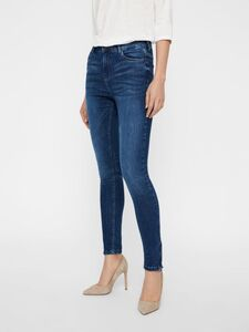 NMLOLLY HIGH WAIST CROPPED SLIM FIT JEANS