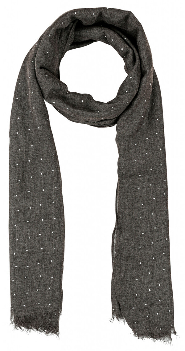 Tuch - Brown With Dots