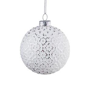 6x Glaskugel Ornament Ø8cm