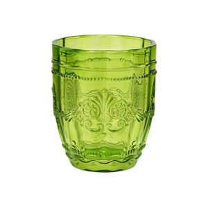 6x Trinkglas 250ml grün