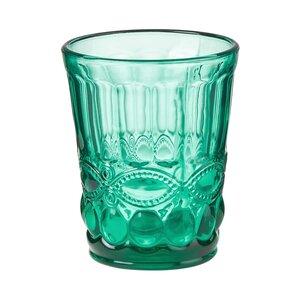 6x Trinkglas 240 ml petrol