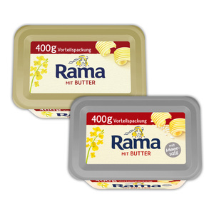 Rama Rama mit Butter