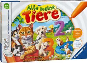 RAVENSBURGER  tiptoi® »Alle meine Tiere«