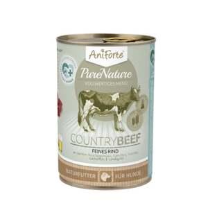 """AniForte PureNature CountryBeef """"Rind mit Karotte"""" für H 7.23 EUR/1 kg"""