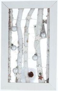 LED-Standdeko - aus Holz - 23 x 5,5 x 37 cm