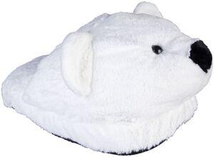 Fußwärmer - Eisbär - aus Textil - 38 x 48 x 22 cm