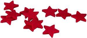 Streudeko - Sterne - aus Filz - Ø = 4 cm - 30 Stück