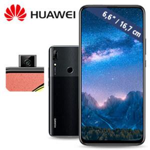 Smartphone P smart Z • Dual-Rückkamera (16 MP/2 MP) • 4-GB-RAM, 64-GB-interner Speicher • Hybrid-Slot für eine zweite nanoSIM oder eine microSD™-Karte bis zu 512 GB • nanoSIM • Android