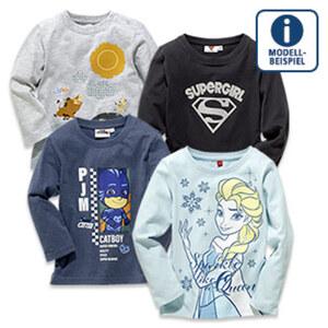 Baby- oder Kinder-Lizenz-Shirts versch. Farben und Lizenzen Größe: 68 - 164, je