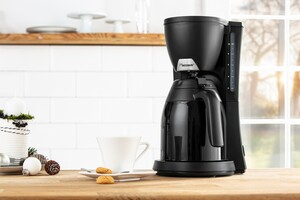 Bestron Kaffeeautomat inkl. Thermokanne mit Einhandbedienung