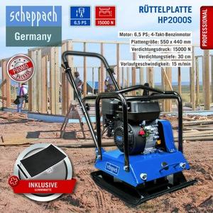 Scheppach Rüttelplatte HP2000S