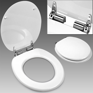Deuba Toilettensitz - weiß